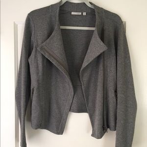 Nordstrom Halogen crop zipper jacket